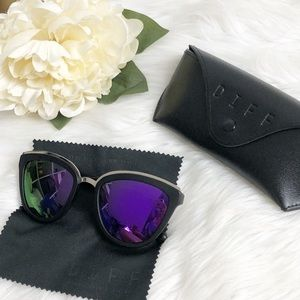 DIFF Eyewear Rose Polarized Sunglasses